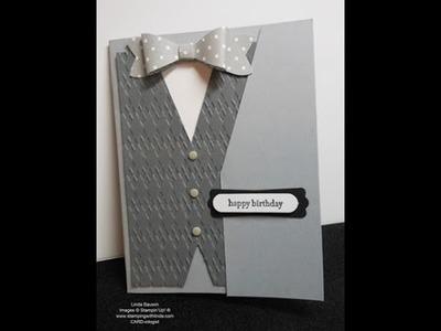 Men's Vest Card