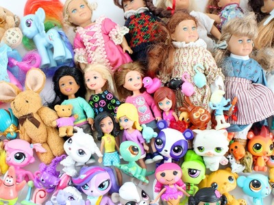 Mi Mini Colección de Mini Muñecas - Lalaloopsies, American Girl, LPS, MLP, Polly Pocket, etc