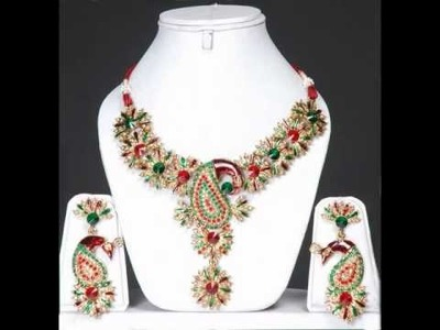 Peacock Jewelry Designer Collection by www.indiafashionexpo.com