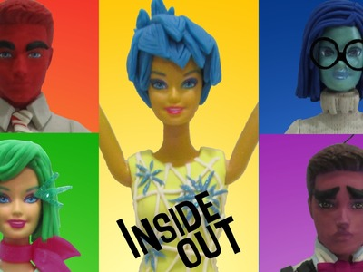 "Play Doh ""INSIDE OUT"" Joy, Disgust, Fear, Anger, Sadness Inspired Costumes"