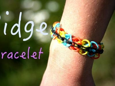 Rainbow Loom Ridge Diamond Bracelet Tutorial How To Easy facile débutant français