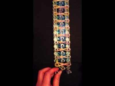 Rainbow Loom-The Taffy Twist Bracelet