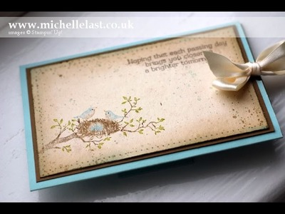 Stampin' Up! World of Dreams Slider Card by Michelle Last