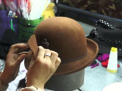 Teach you how to make felt hats