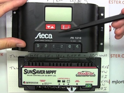 Tutorial: How to Solar Power Your Home. House #4 - Off Grid setup, PWM vs MPPT