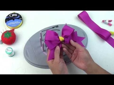 Bow Genius - 4 Loop Tails Down Bow - DIY Bow Maker