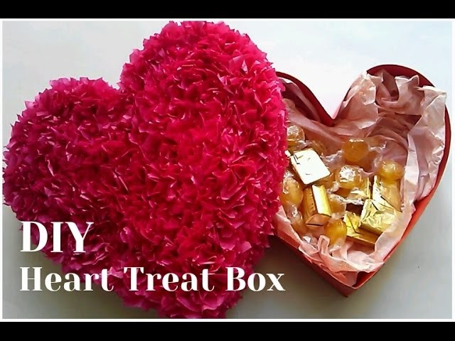 DIY Box - Heart Treat Box