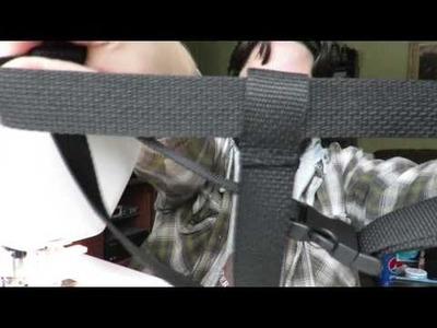 DIY Carboy Hauler For Men Afraid To Sew