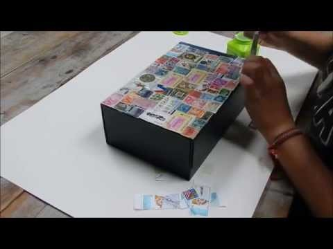 DIY: decorate a storage box!