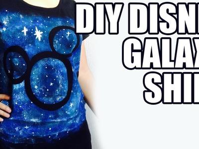 DIY Disney Galaxy shirt