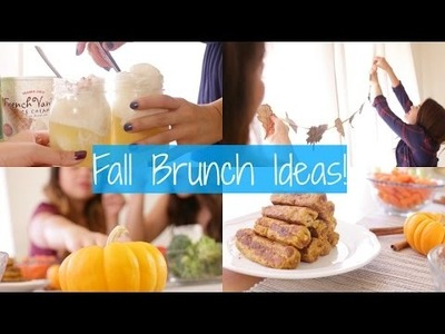 DIY Friendsgiving + Fall Brunch ideas!