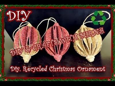 Diy. How to make Christmas ornament
