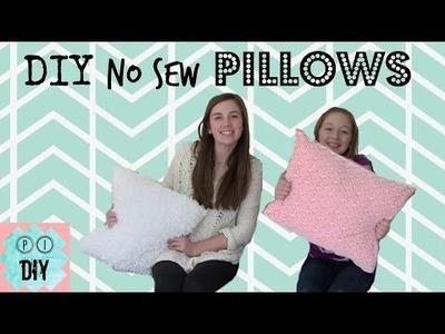 DIY No-Sew Pillows • PI DIY