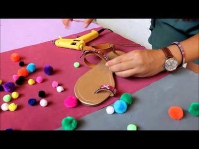 DIY Party sandals   Icifaruru