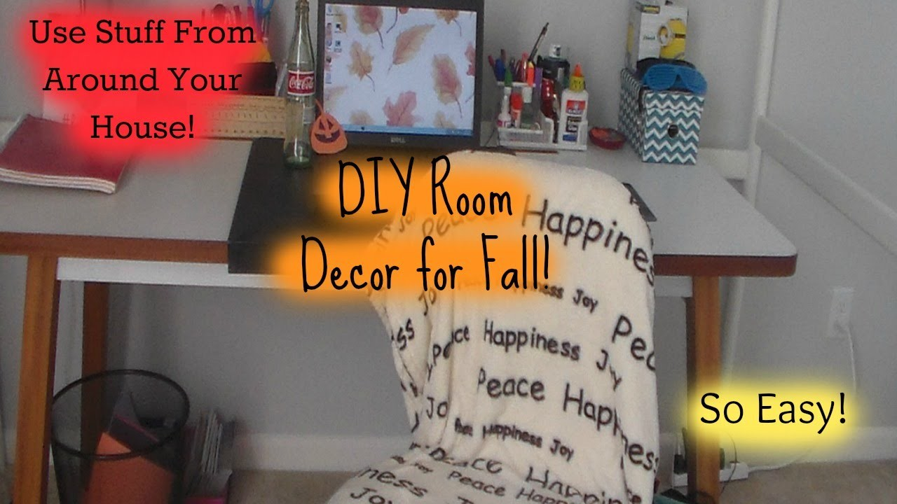 DIY Room Decor for Fall!