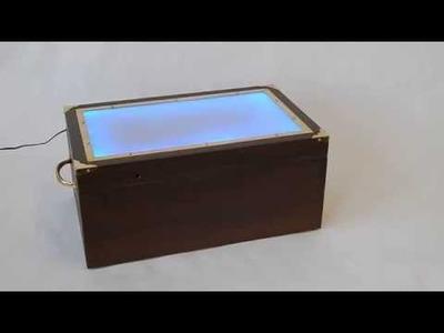 DIY Skylanders Box with LED Lights - OnlineMetals Staff Project