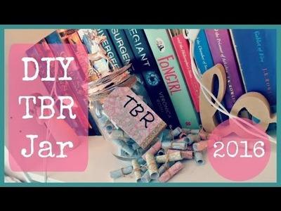 DIY TBR Jar 2016 || DIY #1