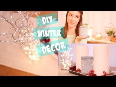 DIY Winter Decor.Easy Ideas for Home + Room Decor