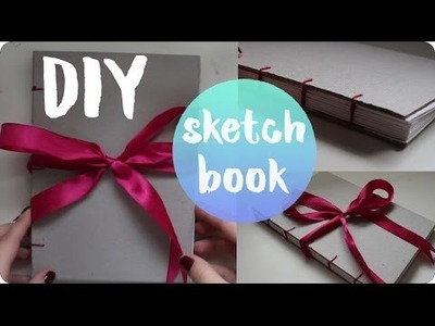 Easy DIY Sketchbook (w. a Bow) | Pypah's Art