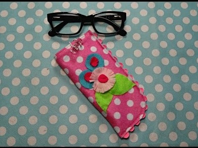 Felt Eyeglass Case DIY Sew Along Project - Cee N Sew #004