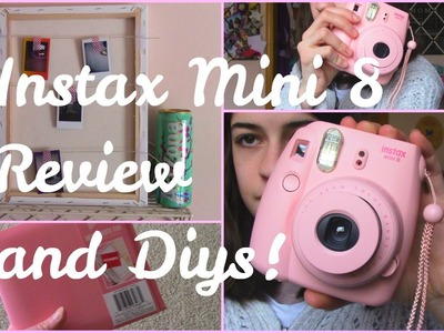 Instax Mini 8 Review + Diy!