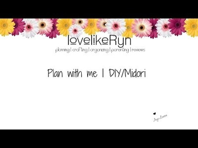 Plan With Me | Travelers Notebook OR DIY