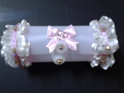 Best Out of Waste Plastic Can transformed to Cute Mini Gift Box