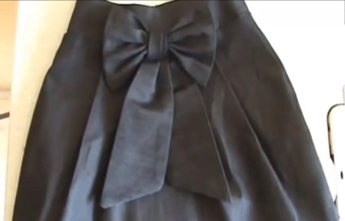 Como Hacer Una Falda De Mezclilla Parte II --How To Make a Denim Skirt Part II