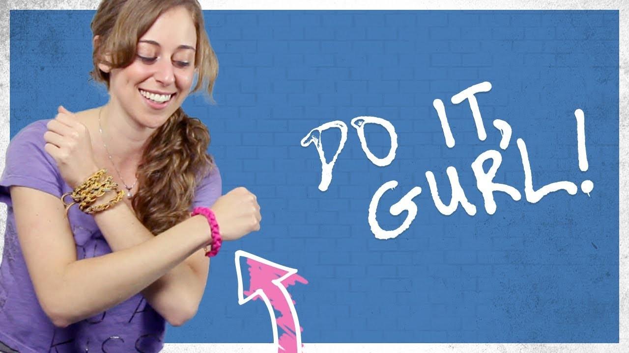 Cord Bracelet - Do It, Gurl