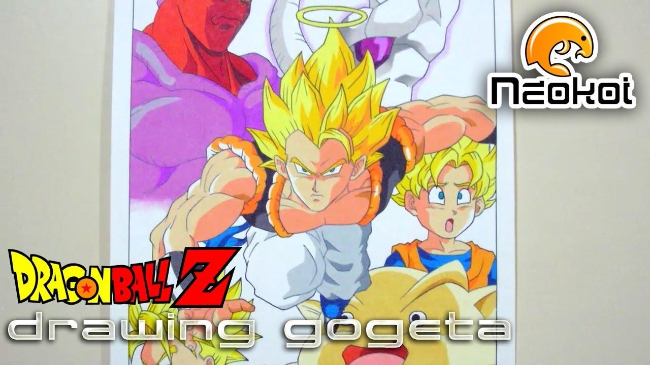 Dibujando a Gogeta (Dragon Ball Z) | Neokoi Comics