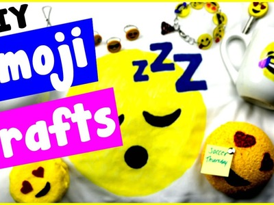 DIY Emoji Craft Ideas! 10 Cool DIY Project Tutorials Bracelets, Candles, Notepads, & More
