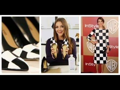 DIY Fashion | Checker Print Shoes | Fashion How To