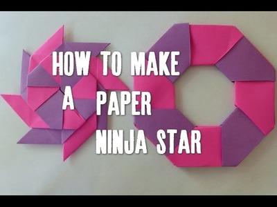 DIY Paper Ninja Star in HD