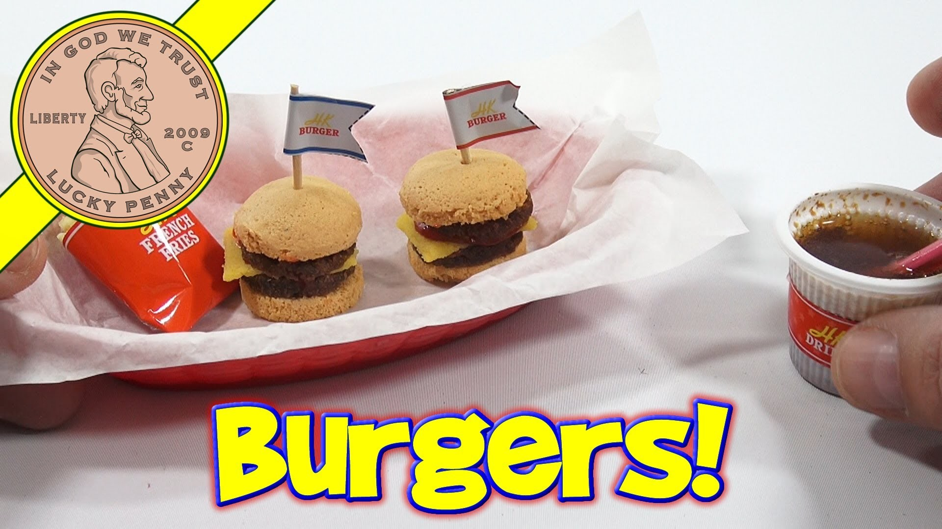 Double Cheeseburger DIY Japanese Kit - Kracie Happy Kitchen Popin' Cookin'