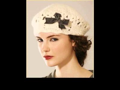 Easy crochet beret ideas