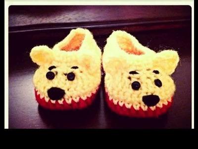 Easy crochet slippers ideas