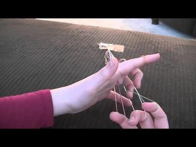 Finger Weaving Tutorial