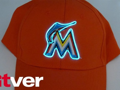 How to Add EL wire Lights to the Logo on ANY Hat! Kitver Tutorial