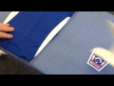 How to Apply Iron-On Little League Patches