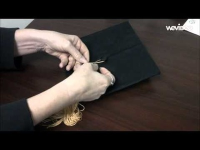 How to attach your tassel to your graduation cap