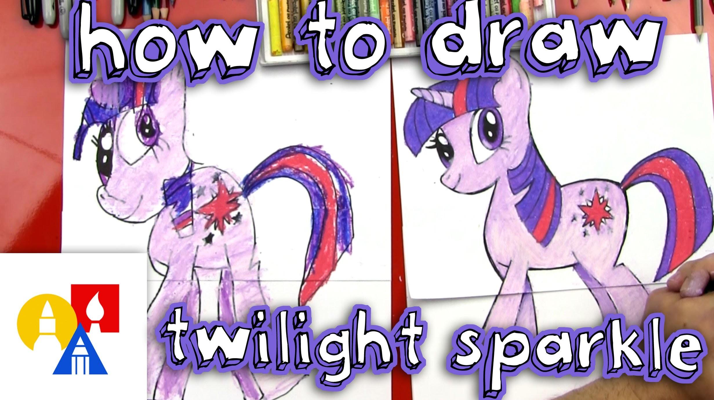 How To Draw Twilight Sparkle