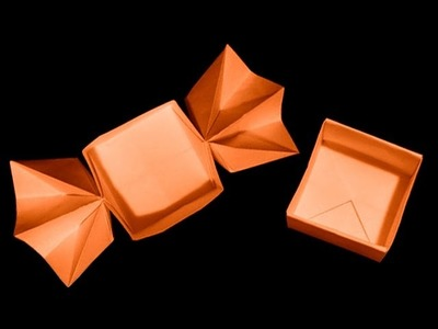 How To Fold: Origami Candy Shaped Box