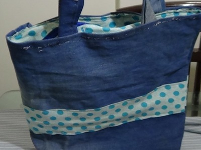 How To Make A Bag And Insert Zip In A Lined Bag
