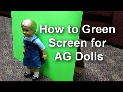 How To Make A Doll Size Green Screen Studio *HD