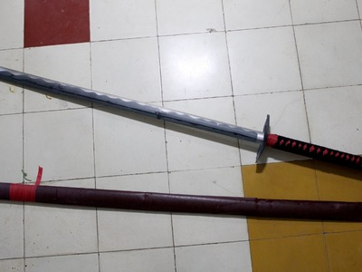 How to make a katana (Japanese sword) with A4 printer paper (Henry Phạm)