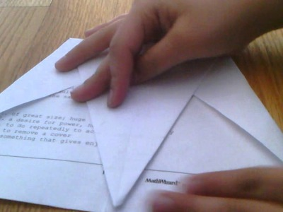 How to make a Paper Airplane: Strike Eagle
