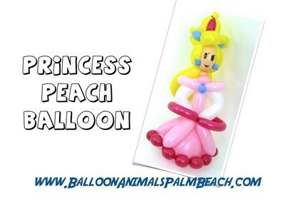 How To Make A Princess Peach Balloon - Balloon Animals Palm Beach