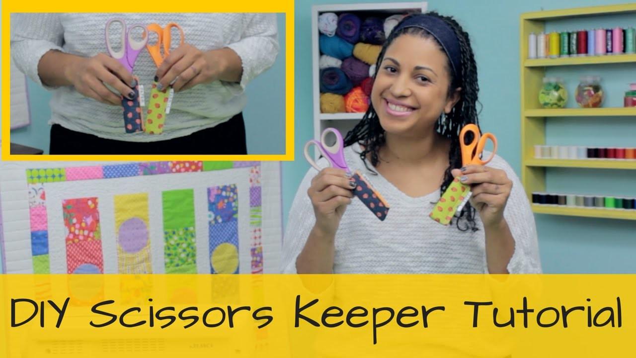 How to make a Scissors Keeper- DIY Tutorial