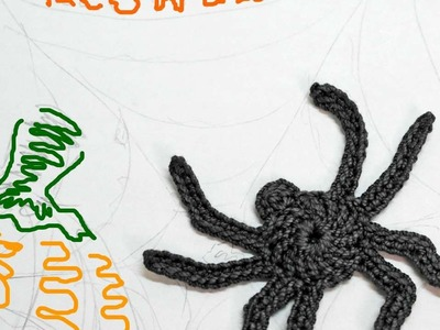 How To Make A Small Crocheted Spider - DIY Crafts Tutorial - Guidecentral