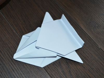 How to make a spaceship out of a piece of paper !!